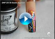 Freehand Nail Art Design Step by Step 2